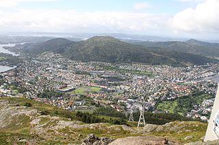 Årstad, Bergen Borough in Western Norway, Norway