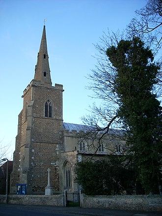 Clifford family (bankers) - The church in Landbeach