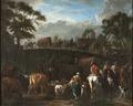 Landscape with Peasants, Soldiers and Cattle (Pieter van Bloemen) - Nationalmuseum - 21448.tif