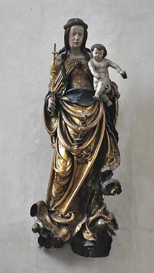 Hans Leinberger - The Madonna in Saint Martin's Church (1516/18)