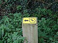 Lapwing marker - geograph.org.uk - 1013695.jpg