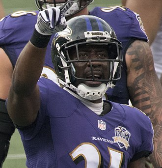 Lardarius Webb - Webb with the Baltimore Ravens in 2015