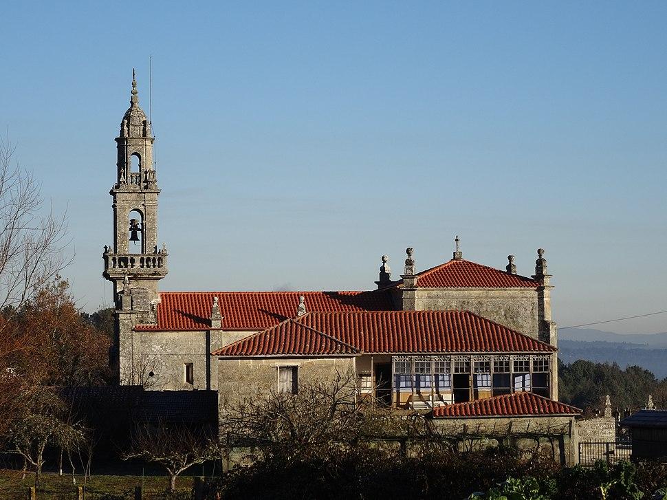 Lateral igrexa Penosiños, Ramirás