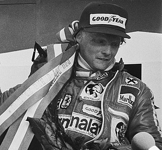1977 Formula One season - Austrian Niki Lauda took his 2nd Drivers' title, driving for Ferrari