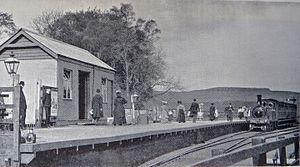 Lauder Light Railway - Image: Lauder railway station