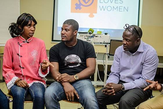 Launching of Wiki Loves Womenat Goethe Institute, Lagos ,Nigeria 22.jpg