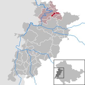 Lauterbach, Thuringia - Image: Lauterbach in WAK