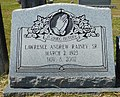 Lawrence Andrew Rainey, Sr. Headstone.jpg