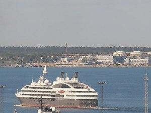 Le Boréal departing Tallinn 27 May 2012.JPG