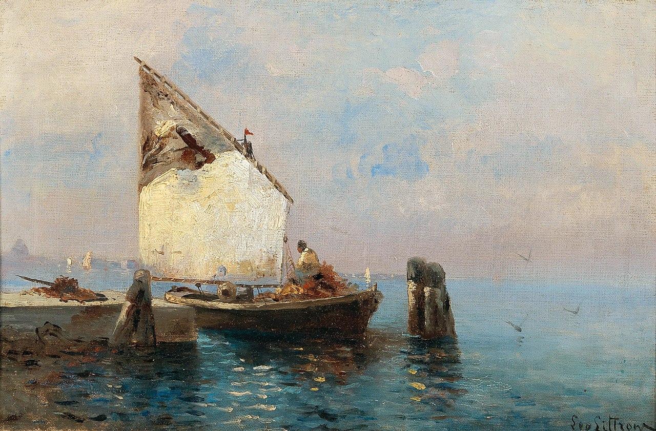Леа фон Литтроу - Морская Painting.jpg