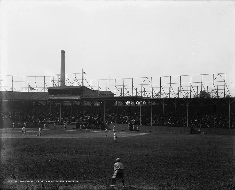 League Park Cleveland ca. 1905