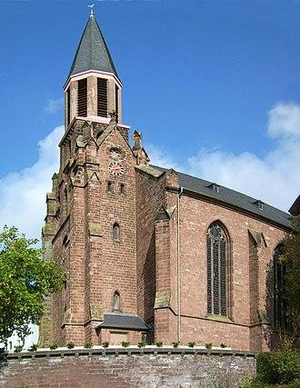 Lebach - Lebach Catholic church