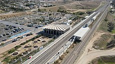 Lehavim–Rahat railway station 1.jpg