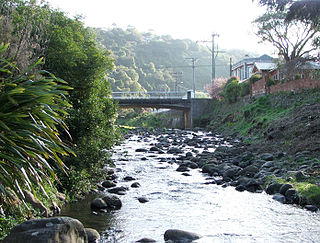 Water of Leith (New Zealand) river in New Zealand