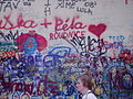 Lennon Wall, Prague.JPG