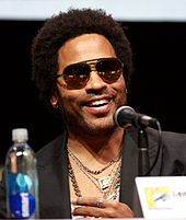 Lenny Kravitz at the 2013 San Diego Comic Con International in San Diego, California.