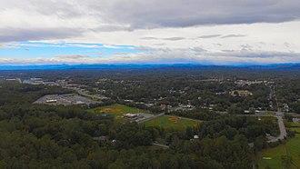 Lenoir, North Carolina - View of Lenoir from Hibriten Mountain