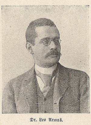 Neukölln - Leo Arons around 1901