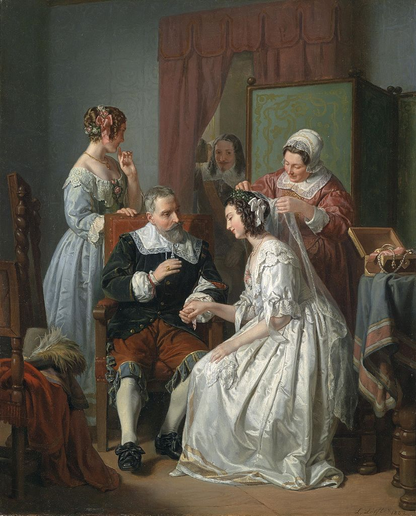 File:Leopold Löffler-Radymno Die Braut 1852.jpg - Wikimedia Commons