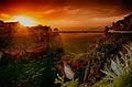 Les Gorges du Rhummel, Coucher de soleil.jpg