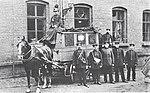 Letzter Pferde-Postwagen 1905.jpg