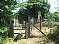 Level crossing near Shoreham - geograph.org.uk - 1331374.jpg