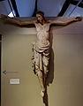 Liège, Grand Curtius. Christ en croix (chêne, 1260-70).jpg