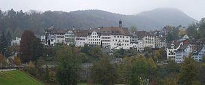 Lichtensteig - View from south