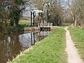 Lift Bridge on the Monmouthshire and Brecon Canal between Cross Oak and Pencelli - geograph.org.uk - 406081.jpg