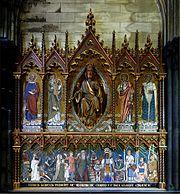 Mosa que murale de la chapelle du sacr c ur de j sus - Eglise notre dame de la treille lille ...