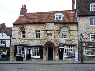 History of the Jews in England (1066–1290) - Image: Lincoln Jew's House