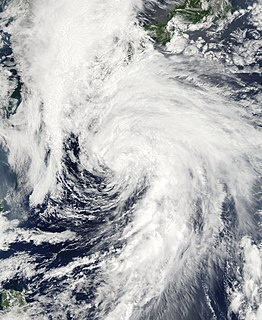 Tropical Storm Linfa (2003) Pacific tropical storm in 2003
