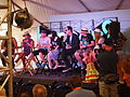 Little Dragon, Fitz & The Tantrums, Kristen Bell, Rhys Darby, Bonnaroo 2012 (7188381701).jpg