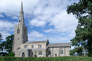 Church of All Saints, Little Staughton - Church of All Saints, Little Staughton