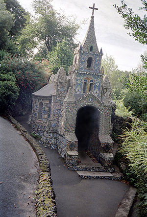 Saint Andrew, Guernsey - Image: Little chapel, Guernsey (1993)