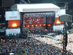 Live Earth concert, London - The London leg of Live Earth was held in Wembley Stadium
