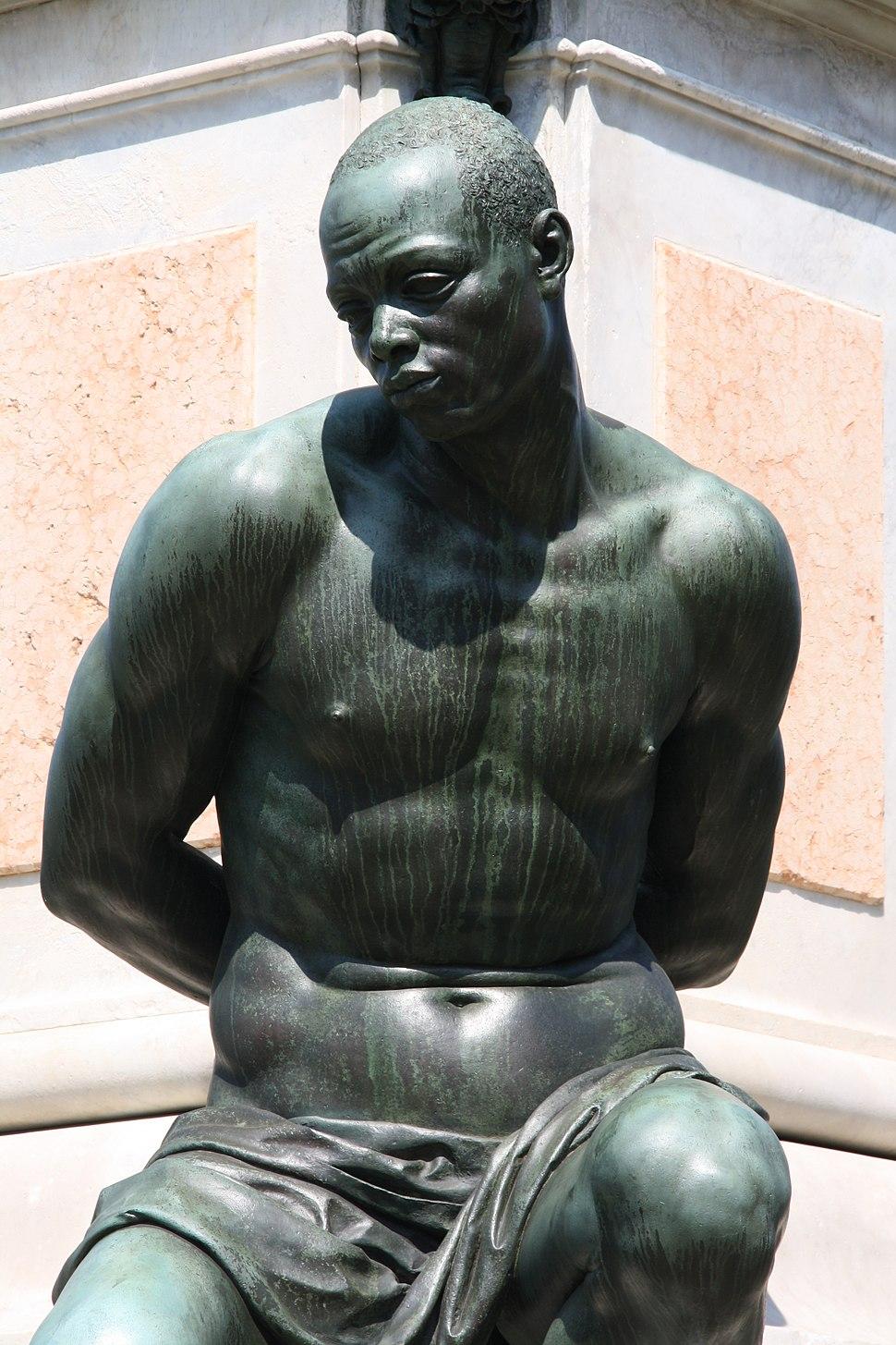 Livorno Quattro mori monument 07