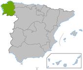 Galicia en España
