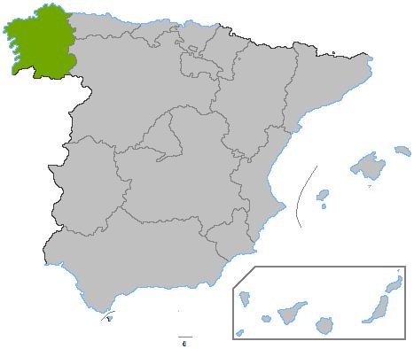 Locus Gallaeciae in Hispania