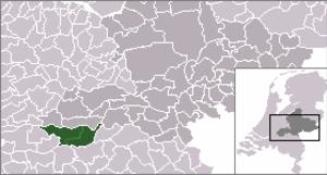 Bommelerwaard - Image: Location Bommelerwaard