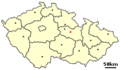 Location of Czech city Litomysl.png