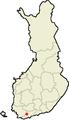 Location of Sammatti in Finland.png