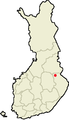 Location of Valtimo in Finland.png