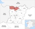 Locator map of Kanton Gorron 2019.png