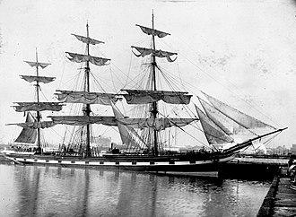 Society for Underwater Historical Research - Image: Loch Vennachar (ship, 1875) SLV H99.220 6