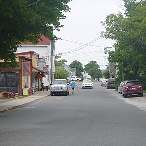 Lockeport - Downtown Lockeport, Nova Scotia