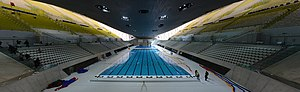 London Aquatics Centre - Image: London Aquatics Centre panorama