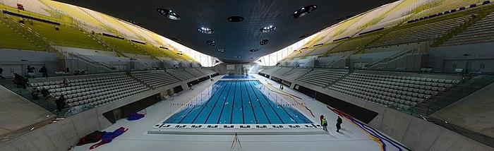 Aquatics centre wikip dia for Club de natation piscine parc olympique