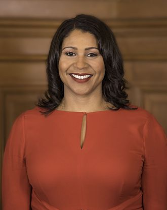 Government of San Francisco - London Breed, the mayor of San Francisco as of 2019