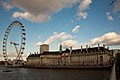 London Eye at the County Hall, Westminster, London.jpg